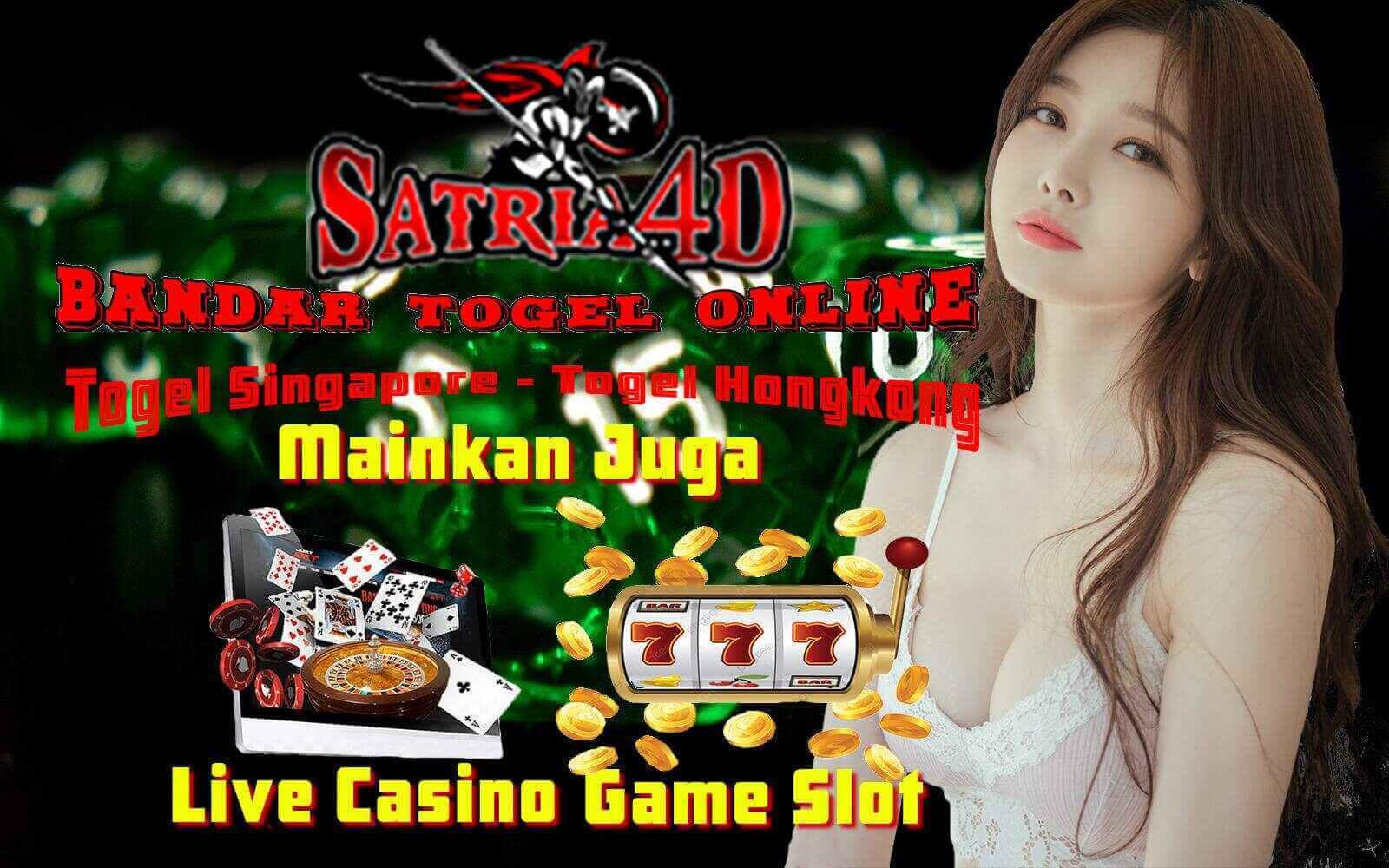 Satria4d : Situs Judi Game Togel Online