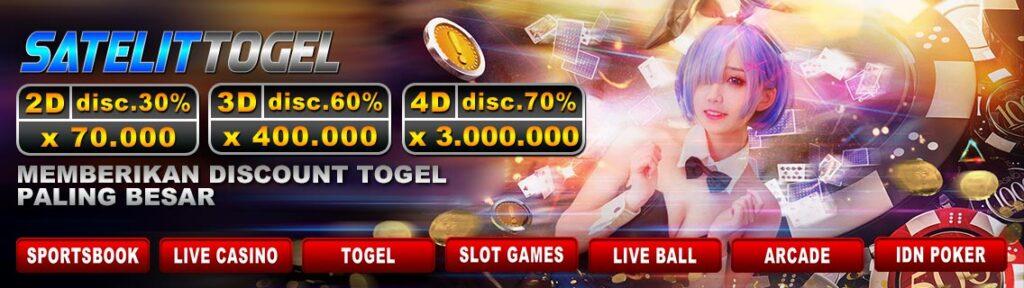 Bandar Togel Terbesar Dengan Permainan Lengkap